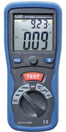 Telurometro Digital Marca: CEM Modelo: DT 5300