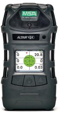 Detector MultiGases Medidor de Atmosfera H2S CO O2 LEL Marca: MSA Modelo: Altair 5X Con Bomba de Succion Interna