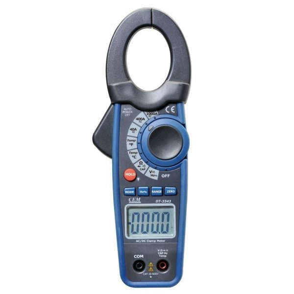 Pinza Voltiamperimetrica CEM DT 3343