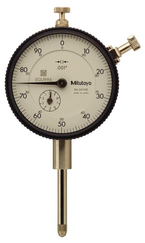 Comparador de Caratula Mitutoyo Ref 2416S
