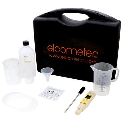 Kit de prueba de sales solubles abrasiva Elcometer 138-A