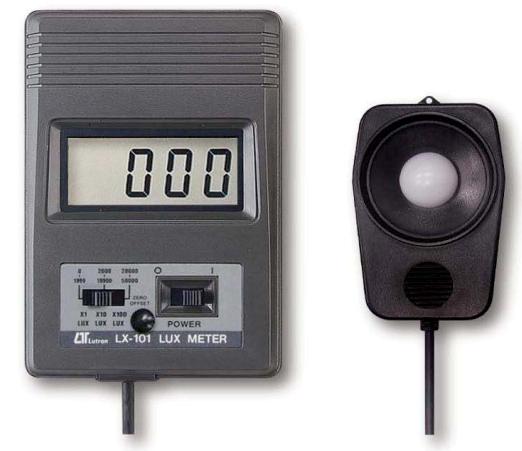 Luxometro Digital Marca: Lutron Modelo: LX-101