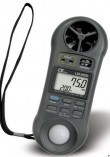 Termo-Anemómetro Digital Portátil, Marca: LUTRON, Modelo: LM-9000