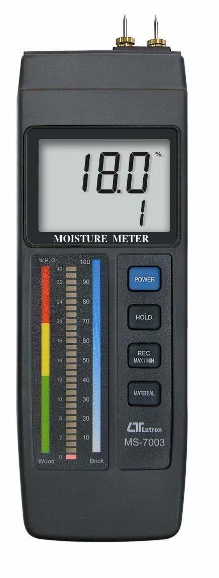 Medidor de Humedad Interna de Recubrimiento Marca: Lutron Modelo: MS-7003