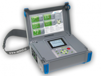 Medidor de Aislamiento 5 KV Marca Metrel Modelo MI3201