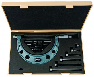 Micrómetro de Exteriores Análogo de 400 a 500 mm Marca MITUTOYO REF. 104 143A
