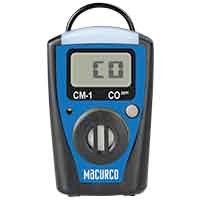 Detector de Gas (CO) MACURCO CM-1XLS Gas Monitor, LCD, CO 0-995 PPM