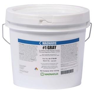 Particulas Secas Oxido de Hierro Magnavis 1 Gray MARCA: MAGNAFLUX P/N: 01-1716-69 Caneca X 10 Lb