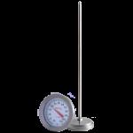 TERMOMETRO BIMETALICO ANALOGO RANGO 0° C 120° C MARCA: BRIXCO MODELO 008