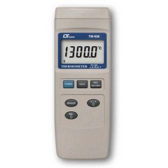 Termómetro Digital LUTRON Modelo TM936 con Termocupla Tipo K