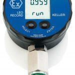 Manómetro Digital con Función de Registro de Presión y Temperatura Marca: Keller, Modelo: LEO Record