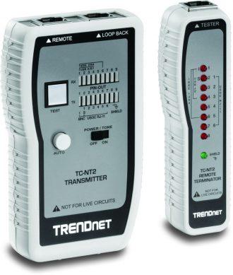 TESTER CABLES DE RED GENERADOR TONOS TRENDNET TC-NT2