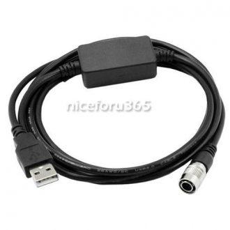 Cable Comunicación y Datos para Estaciones Topcon USB