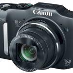 Cámara Fotográfica Digital con Flechador CANON SX-160 IS