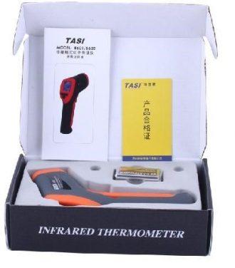 TERMOMETRO DIGITAL INFRARROJO Modelo Tassi 8601