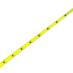 PERTIGA TELESCOPICA DE 16 PIES 5.00 MTS 4 SECCIONES MARCA HASTINGS MODELO S 216