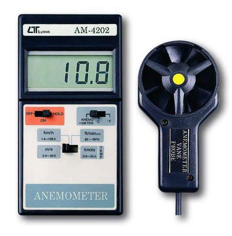 ANEMOMETRO DIGITAL MARCA LUTRON MODELO AM 4202
