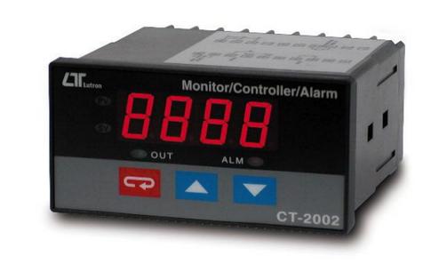 CONTROL INDICADOR DIGITAL 4-20 miliamperios MARCA LUTRON MODELO CT 2002 MA