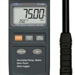 HIGROMETRO TERMOMETRO DIGITAL DE PRECISION DATALOGGER MARCA LUTRON MODELO HT 3009