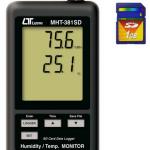HIGROMETRO TERMOMETRO DIGITAL DATALOGGER 1MARCA LUTRON MODELO MHT 381SD