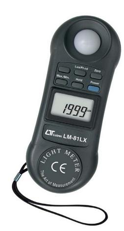 LUXOMETRO DIGITAL 0-20.000 MARCA LUTRON MODELO LM 81LX