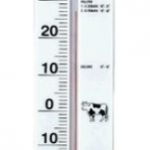 TERMOMETRO BASE PLASTICA ALCOHOL ROJO 45 cms de LARGO -30/50ºC MARCA BELL MODELO TH013P