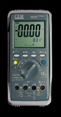 MULTIMETRO DIGITAL MARCA CEM MODELO DT-9932F