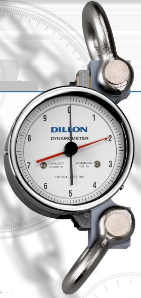 DINAMOMETRO MARCA DILLON MODELO D 125