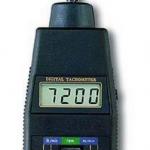TACOMETRO DIGITAL DE CONTACTO 5-19.999 RPM MARCA LUTRON MODELO DT 2235A