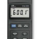 TERMOMETRO DIGITAL INFRARROJO -20+650 °C-°F MARCA LUTRON MODELO TM 939