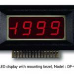 VOLTIMETRO MODULO 3,5 DIG. LED RED + 199.9 MARCA LUTRON MODELO DP 40
