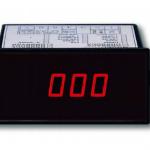 VOLTIMETRO 3 ,5 DIGITAL DE PANEL 96X48 DC 5 MARCA LUTRON MODELO DR 99 ACA