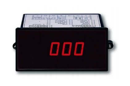 VOLTIMETRO 3,5 DIGITAL DE PANEL 96X48 MARCA LUTRON MODELO DR 99 DCA