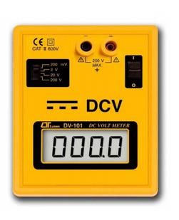MEDIDOR DIGITAL DE VOLTIOS DC 200 VDCX 0.001 VDC