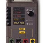 WATTIMETRO DIGITAL0-6000 WATTS AC-DC 600 V MARCA LUTRON MODELO DW 6060