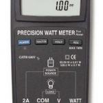 WATTIMETRO DIGITAL DE PRECISION PORTATIL MARCA LUTRON MODELO DW 6063