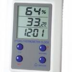 HIGROTERMOMETRO RELOJ DIGITAL 0-50ºC MAX/MIN (20 - 99%HR) MARCA RADI MODELO RT 819C