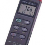 TERMOMETRO DIGITAL -200ºC+1370ºC USB DATALOGGER ENTRADA DOBLE MARCA TECPEL MODELO DTM 318