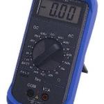 MULTIMETRO DIGITAL 2 AMP. 3,5 DIGITOS MARCA TECPEL MODELO DMM 120