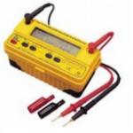 MEDIDOR DE AISLAMIENTO DIGITAL 250-500-1000 VDC 8 GOHMS MARCA TECPEL MODELO DIM 572