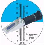 REFRACTOMETRO PORTATIL 0-40% ºBrix MARCA ZHIFONG MODELO FG 513