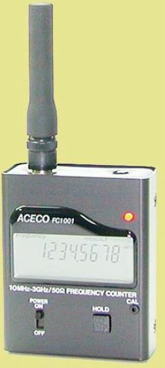 FRECUENCIMETRO DIGITAL MARCA ACECO MODELO FC 1001