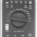MULTIMETRO AUTOMOTRIZ 20 AMP. AUTORANGO MARCA AW SPERRY MODELO ADM 88