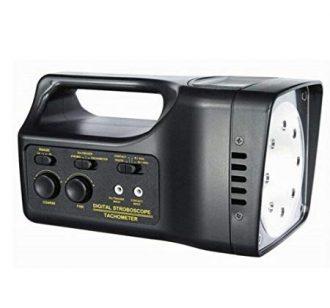 LAMPARA STROBOSCOPICA 10-99.999, RPM PILA - 110 VAC (LUZ ROJA) MARCA LUTRON MODELO 2299