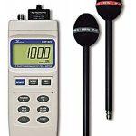 MEDIDOR DE CAMPO DE RADIACION ELECTROMAGNETICA DE RADIOFRECUENCIA 100 khz 3 Ghz MARCA LUTRON MODELO EMF 829
