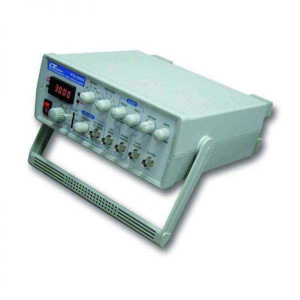 GENERADOR DE FUNCIONES 0.5 Hz - 3 MHz CONTADOR DE FRECUENCIA MARCA LUTRON MODELO FG 2003