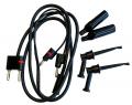 Cable conector terminal positiva (negro - rojo) para equipo Comunicador de Campo Emerson Ref. 475 Marca: Emerson