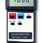 MANOMETRO DIG. ENTRADA DOBLE DIFERENCIAL 7000 mbar MARCA LUTRON MODELO PM 9107