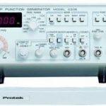 GENERADOR DE FUNCIONES 0.01Hz -10 Mhz (9 RANGOS) MARCA PROTEK MODELO G305