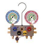 SET MANOMETROS DIGITALES 4 VIAS MANGUERAS P/TODOS GASES MARCA TIF MODELO 9600D